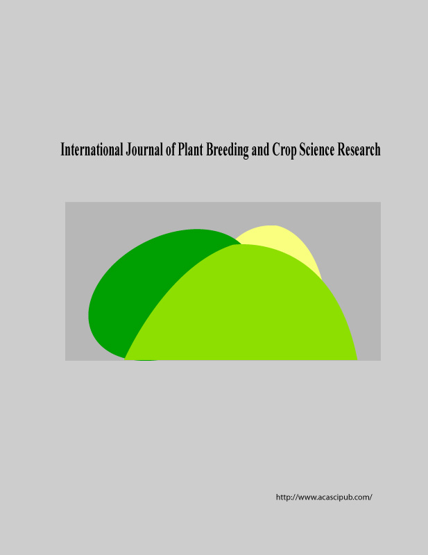 International Journal of Plant Breeding and Crop Science Research